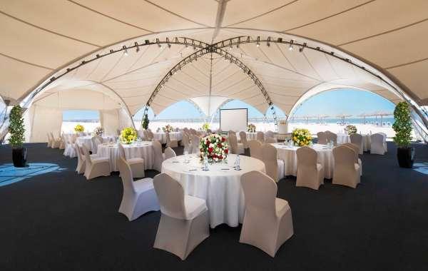 Hilton Al Hamra Beach & Golf Resort Hosts a Halloween Spectacular in their Royal Tent on the Beach!