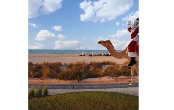 Father Christmas Will Arrive in Style at the Christmas Day Brunch at The St. Regis Saadiyat Island Resort, Abu Dhabi