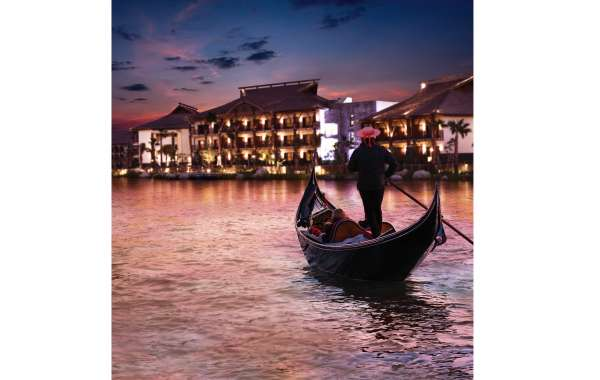 A Romantic Gondola Cruise the Highlight of Lapita's Incredible Valentine's Day Experience