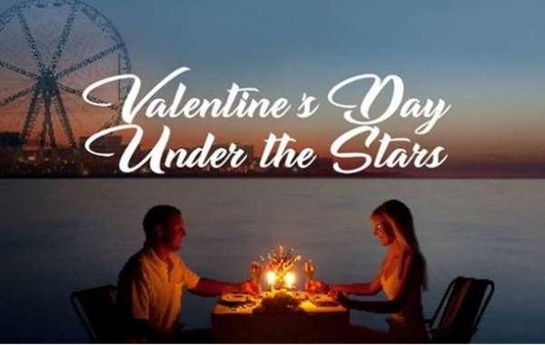 Enjoy a Romantic Valentine's Dinner on a Private Beach at Wavebreaker