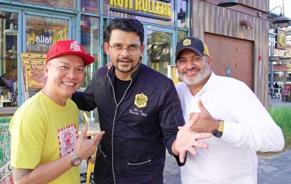 Reif Othman Rolls into Roti Rollers for An Exciting Menu
