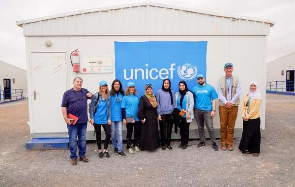 Central Hotels COO Joins UNICEF Delegation to Visit Azraq Refugee Camp in Jordan