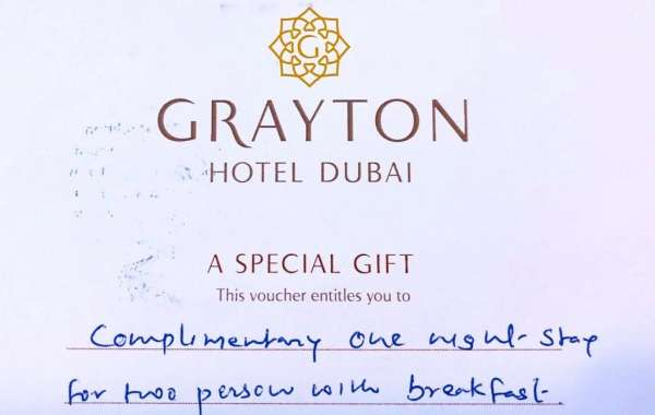 A CHANCE TO WIN 1 NIGHT STAY WITH BREAKFAST AT THE NEW GRAYTON HOTEL DUBAI