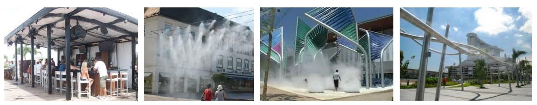 Outdoor cooling & misting | Dubai | Abu Dhabi | UAE | - Desert Cooler