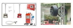 Misting systems & Fans - Desert Cooler | Dubai