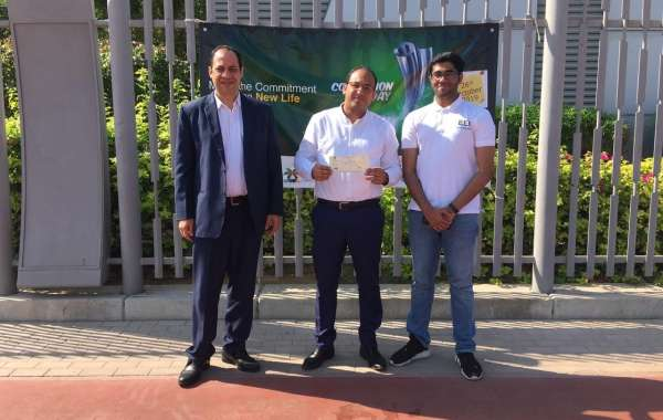 """Ghaya Grand Hotel Supports """"Can Collection Campaign"""" Organized by Emirates Environmental Group"""