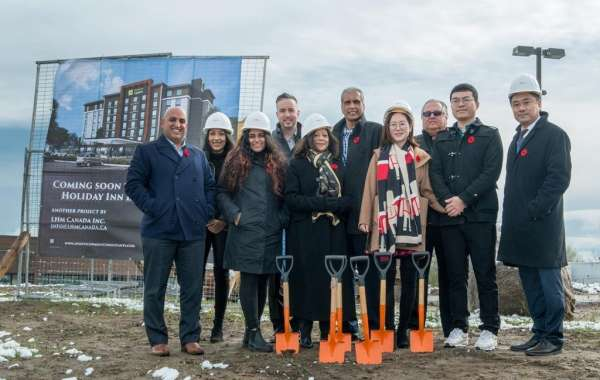 Holiday Inn Express & Suites® Toronto Airport South Hotel Breaks Ground