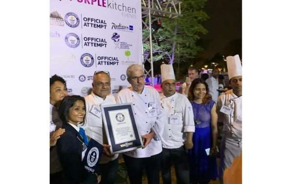 Ghaya Grand Hotel successfully participated in Guinness World Record Event for The Largest Pastry Buffet in the UAE