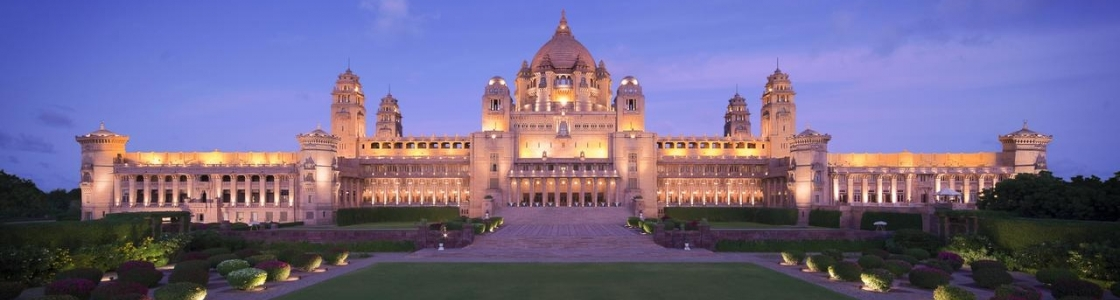 Umaid Bhawan Palace Cover Image