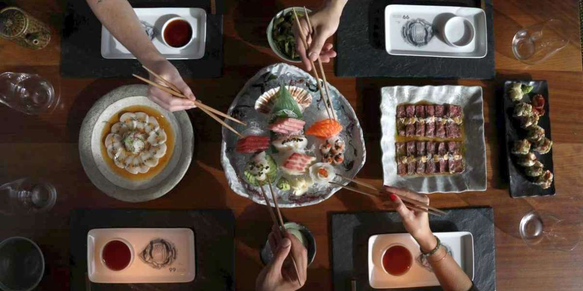 99 Sushi Bar Revolutionises Ordering Fine Dining Online for Customer's