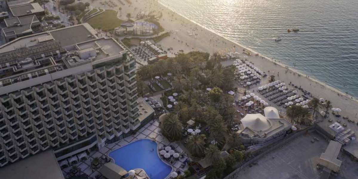The Pool is Back at Hilton Dubai Jumeirah!