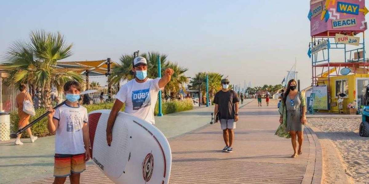 UAE Residents Enjoy Sun, Sea and Sand Once Again as Public and Hotel Beaches Reopen Across Dubai