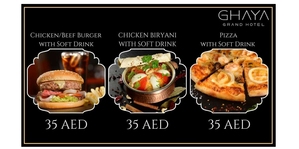 Ghaya Grand Hotel Launches the US$10 Meal