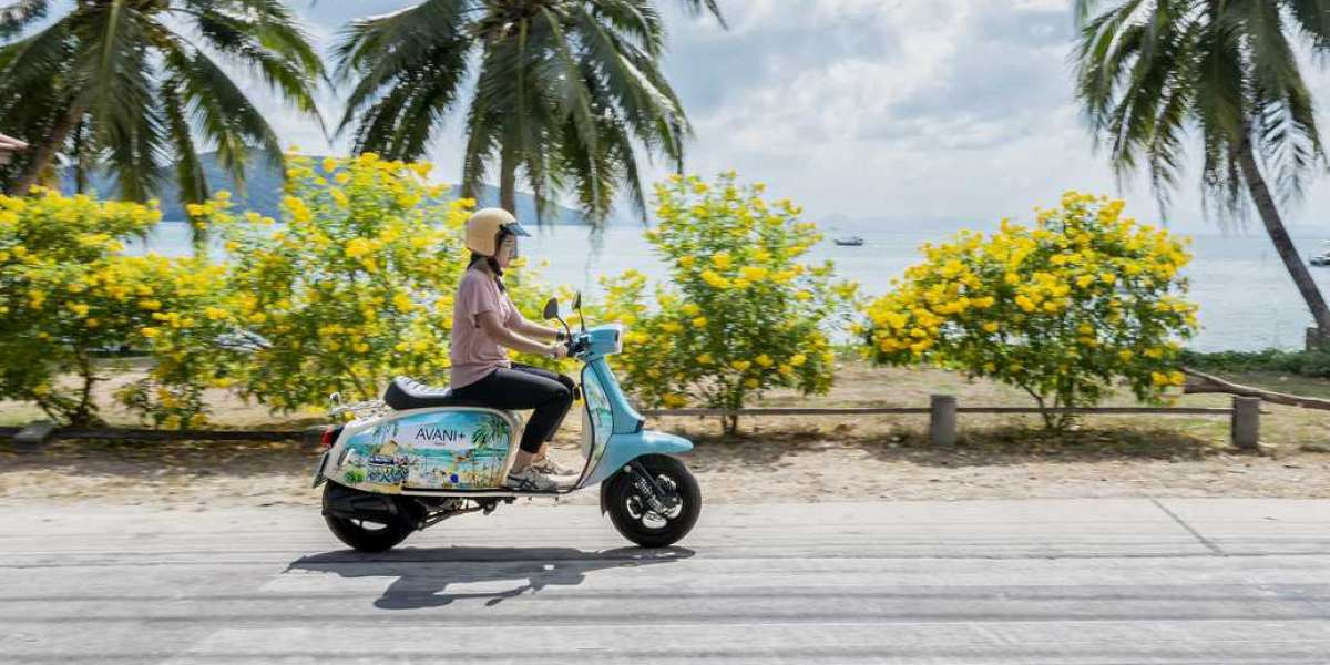 When the Road Calls: A Fleet of Classic British Scooters Transports Avani+ Resort Guests to Parts Unknown