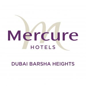 Mercure Dubai Barsha Heights Hotel Suites and Apartments Logo