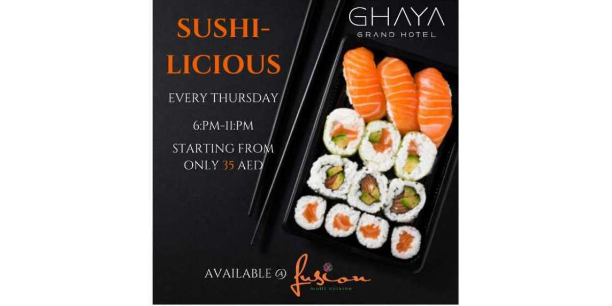 Ghaya Grand Hotel Launches a Unique Sushi Experience