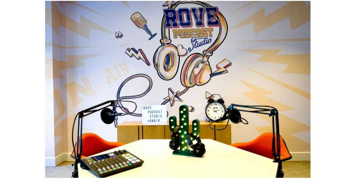 Calling All Podcasters & Content Creators, The Rove Podcast Studio is Here