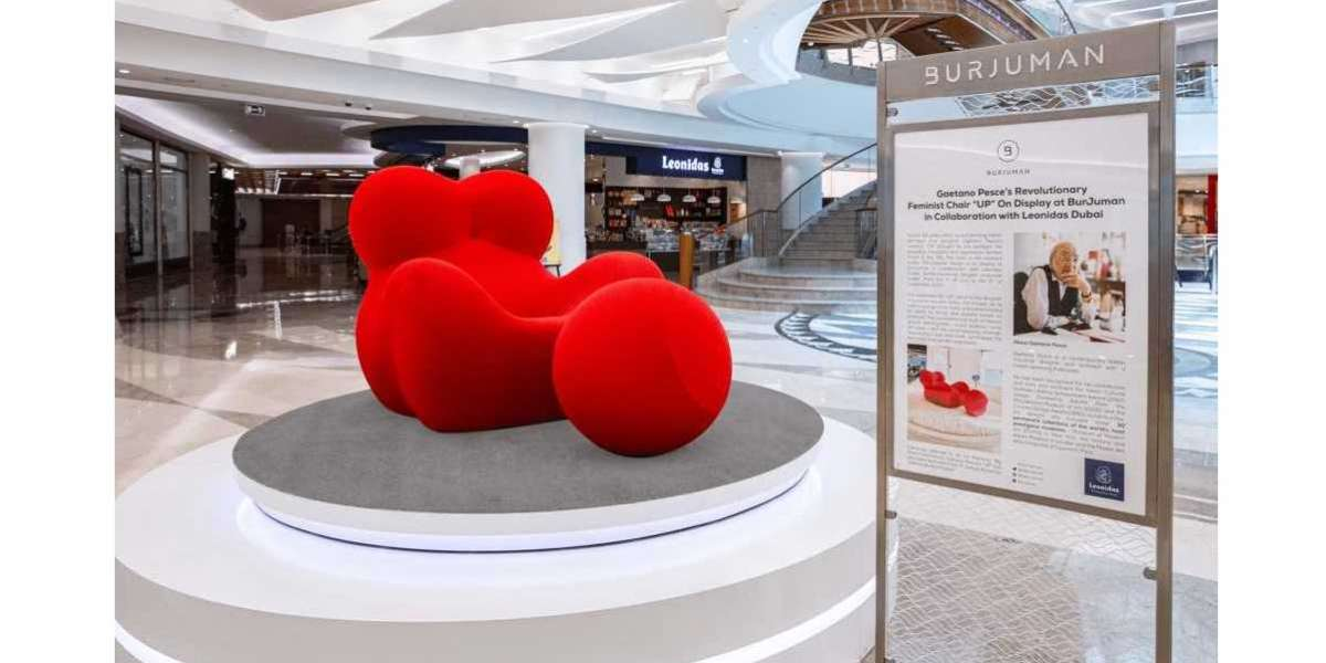 "Gaetano Pesce's Revolutionary Feminist Chair ""UP"" On Display at BurJuman in Collaboration with Leonidas Dubai"