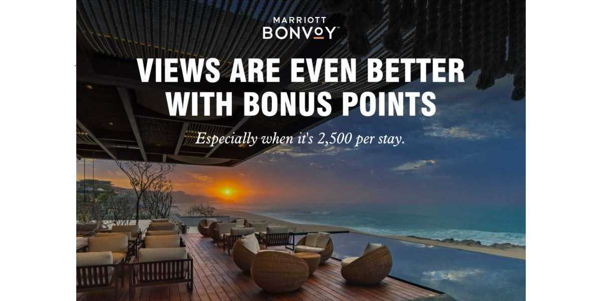 Earn Bonus Points Quicker and Be Inspired with Marriott Bonvoy's Summer / Fall Promotion