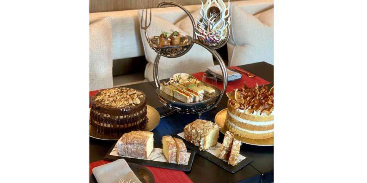 Embark on a Hellicious Afternoon Tea Experience