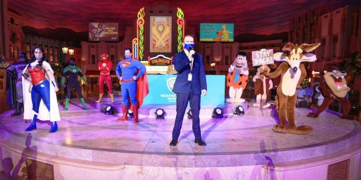 Fans Enjoy an Action-packed Summer at Warner Bros. World™ Abu Dhabi