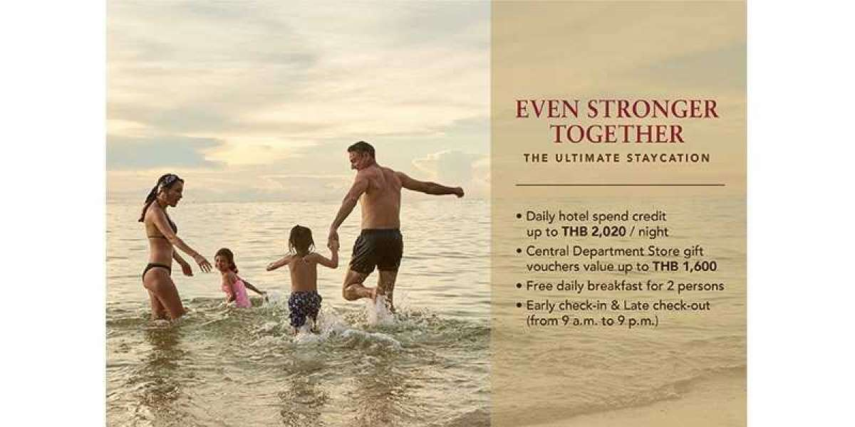 Centara Offers Travellers the Ultimate Staycation Experience with Even Stronger Together Promotion