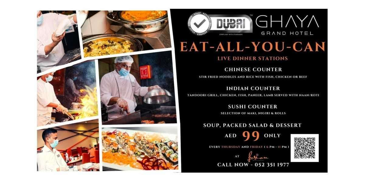 Ghaya Grand Hotel Launches Eat-all-you-can Special Dinner Offer for Only AED99!