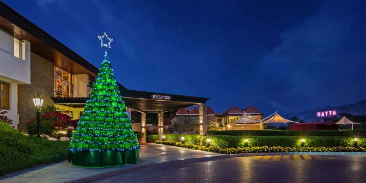 A Truly Unique Rustic Christmas Season at JA Hatta Fort Hotel, Hajar Mountains Dubai