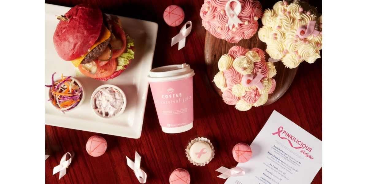 We've Gone Pink this Month - Dubai Marriott Harbour Hotel & Suites