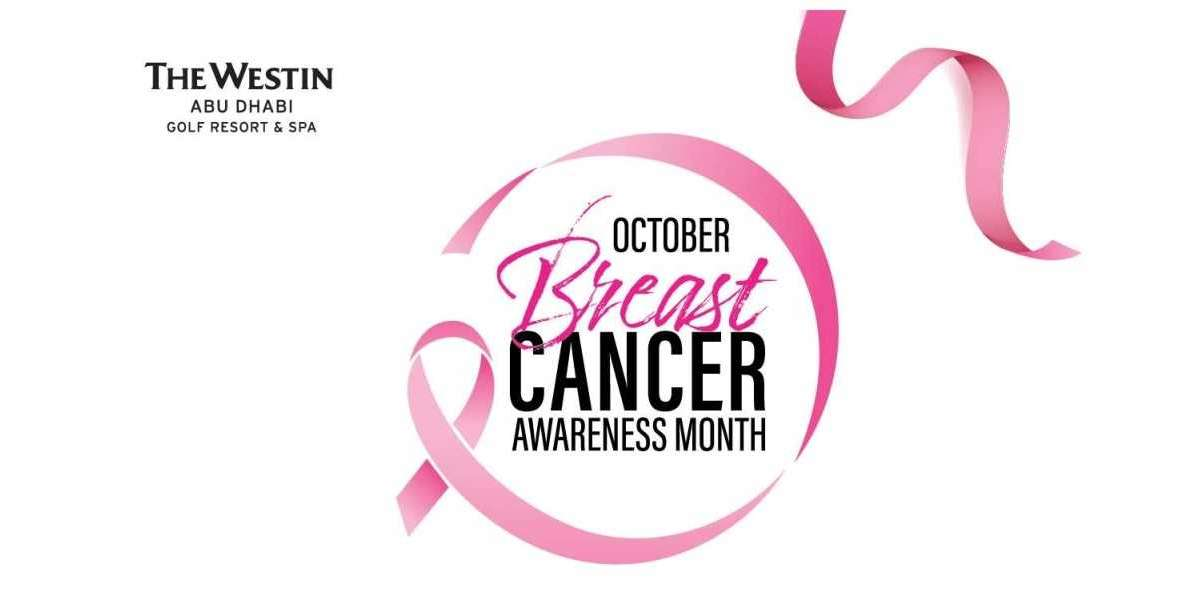 The Westin Abu Dhabi Goes Pink for Breast Cancer Awareness Month in October