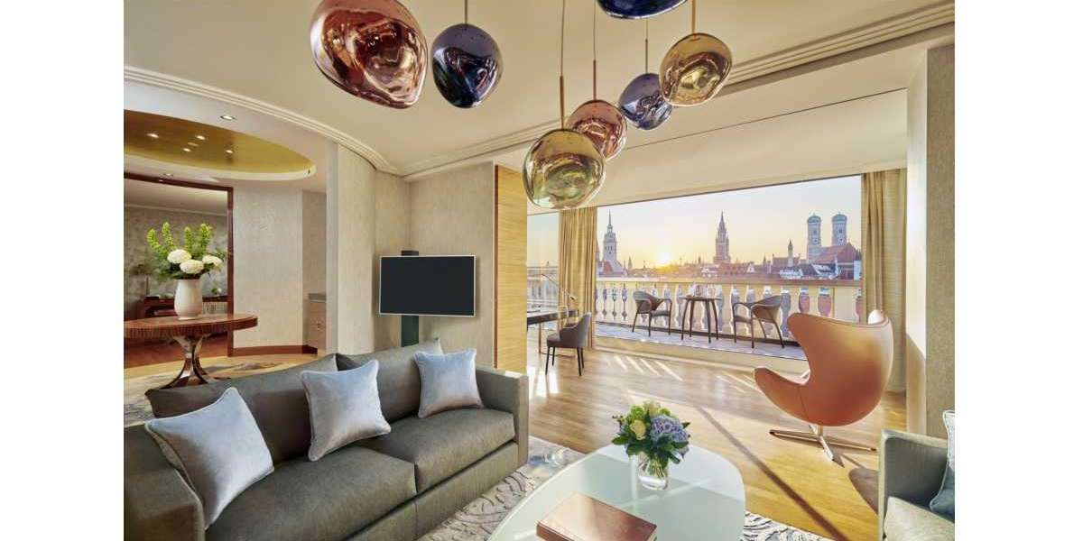 Mandarin Oriental, Munich Reopens with Newly Renovated Rooms and Suites