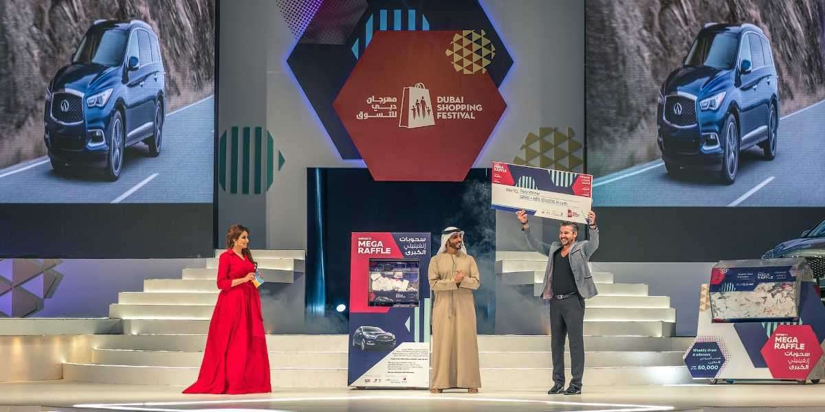 Dubai Shopping Festival's Raffles Offer a Chance to Win a UAE-made Supercar and more this Edition