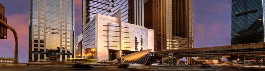 Conrad Dubai Cover Image