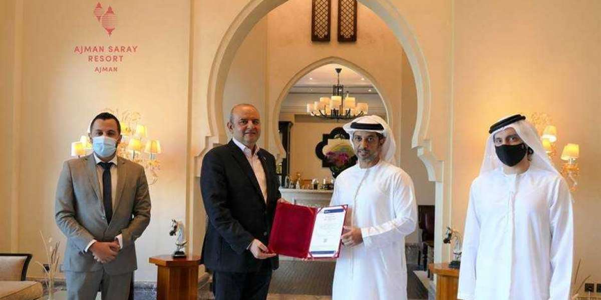 His Highness Sheikh Abdulaziz bin Humaid Al Nuaimi Awards First BV Certification to Ajman Saray
