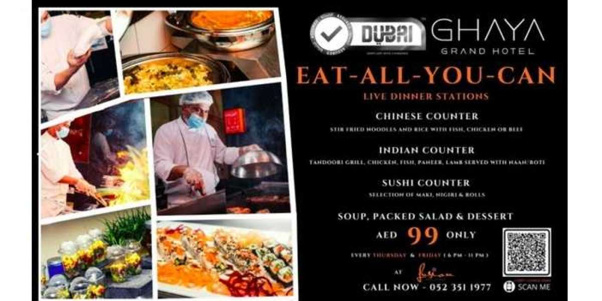 Ghaya Grand Hotel Launches Taste of the World Eat-All-You-Can Dinner for Only AED99!