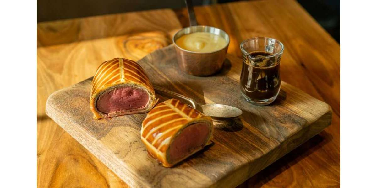 Nick Alvis & Scott Price Launch their Signature Beef Wellington Dish for Home Chefs