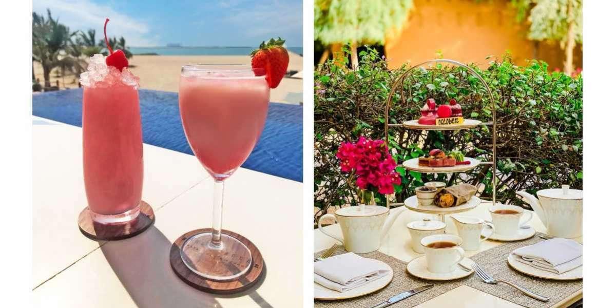 Pinktober at The Ritz-Carlton Ras Al Khaimah Al Wadi Desert and The Ritz-Carlton Ras Al Khaimah, Al Hamra Beach