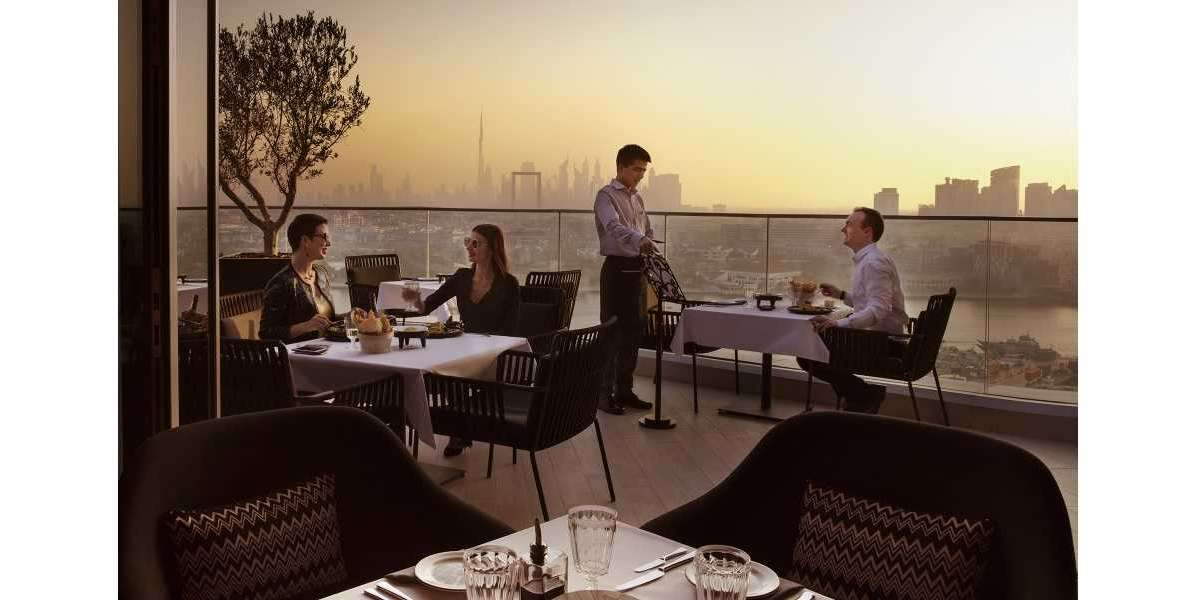 Benvenuto to Gusto Italian Restaurant at Al Bandar Rotana Hotel Dubai Creek