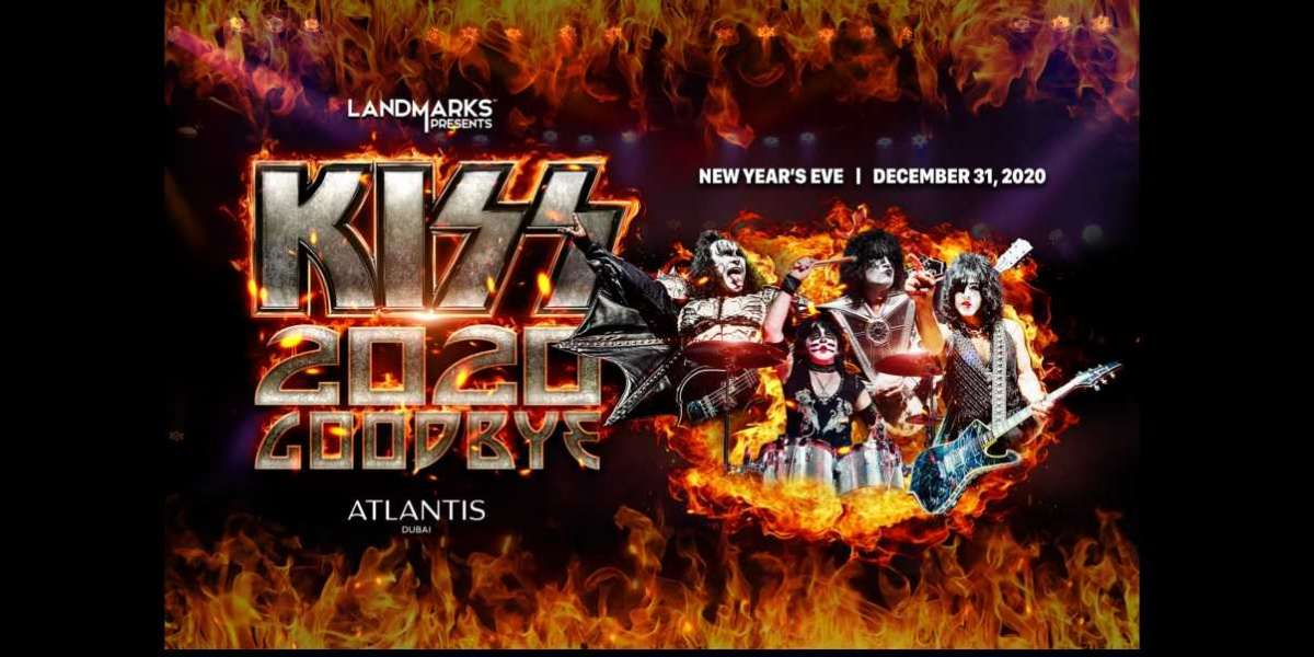 Rings in the New Year with Rock & Roll Hall of Fame Band Kiss at Atlantis, The Palm