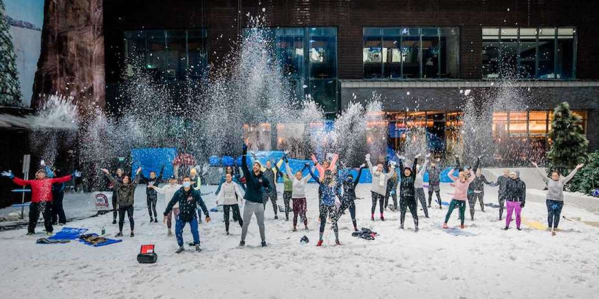 Ski Dubai Warms Up for Dubai Fitness Challenge