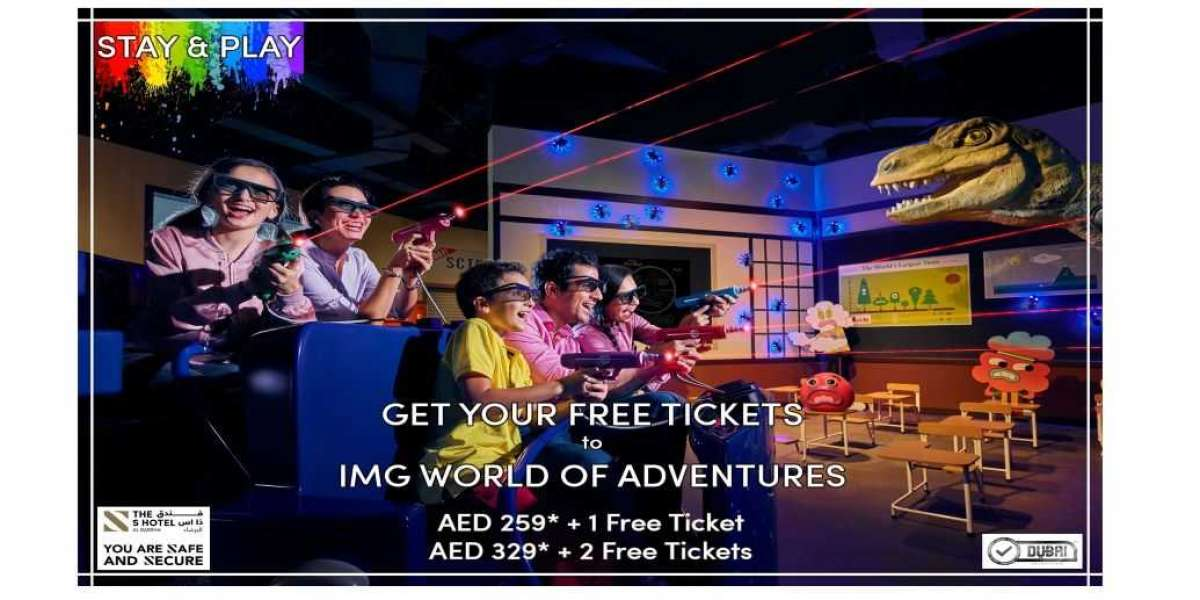 Book your stay with us starting from AED 259* and explore the best of IMG Worlds of Adventure!