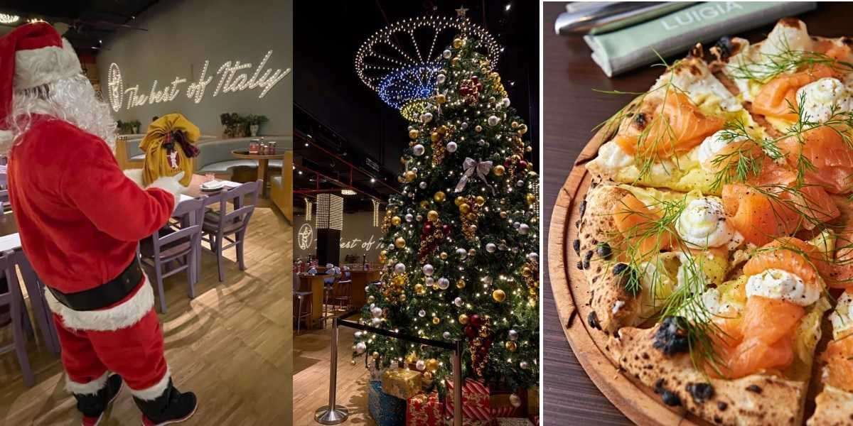Create Joyful Holiday Moments at Luigia