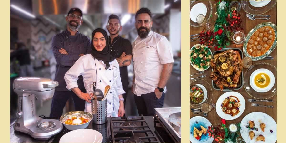 Celebrity Chefs Prepare Christmas Dinner with Sage