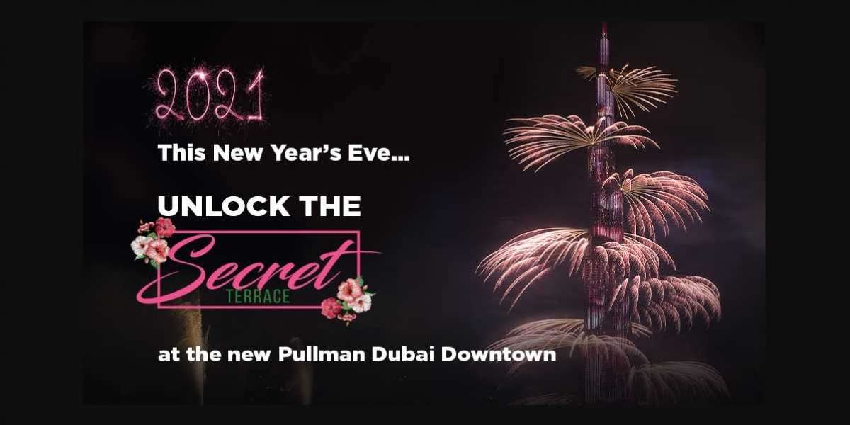 Celebrate New Year's Eve at Our Secret Terrace