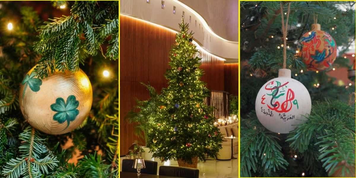 The Abu Dhabi EDITION 2020 Festive Tree