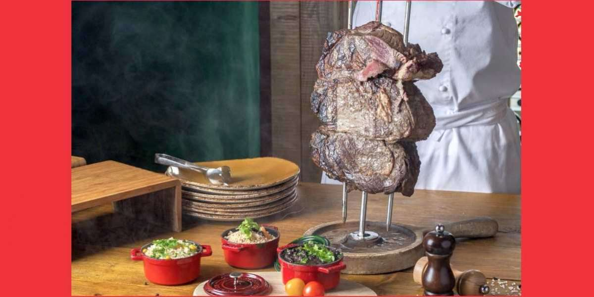 Spoil the One You Love with An All-You-Can-Eat Brazilian Churrasco BBQ at Fogueira Restaurant and Lounge