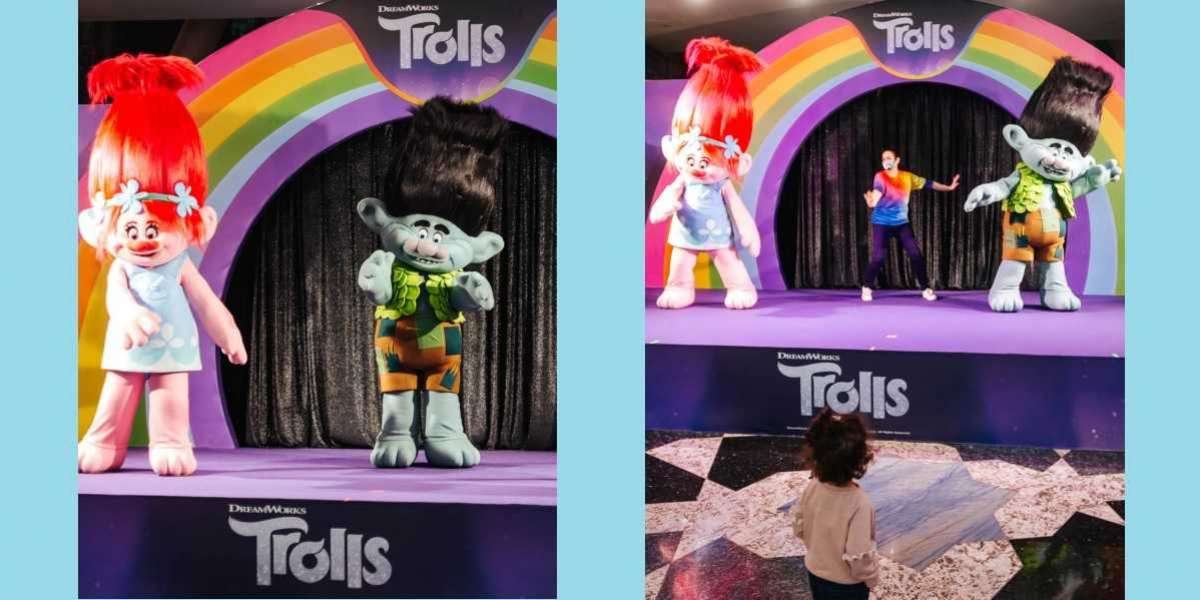 Meet the Trolls at Mall of The Emirates