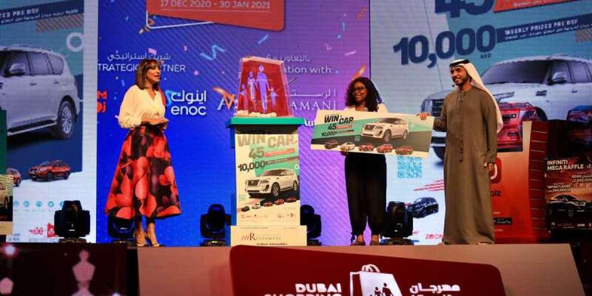 Dubai Shopping Festival Celebrates Closing Weekend