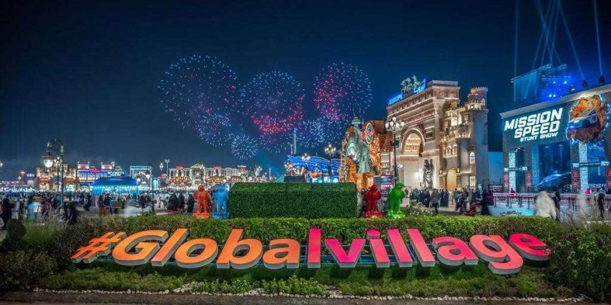 Global Village Lights Up Dubai Skies to Celebrate New Year 2021 in Seven Countries Around the World