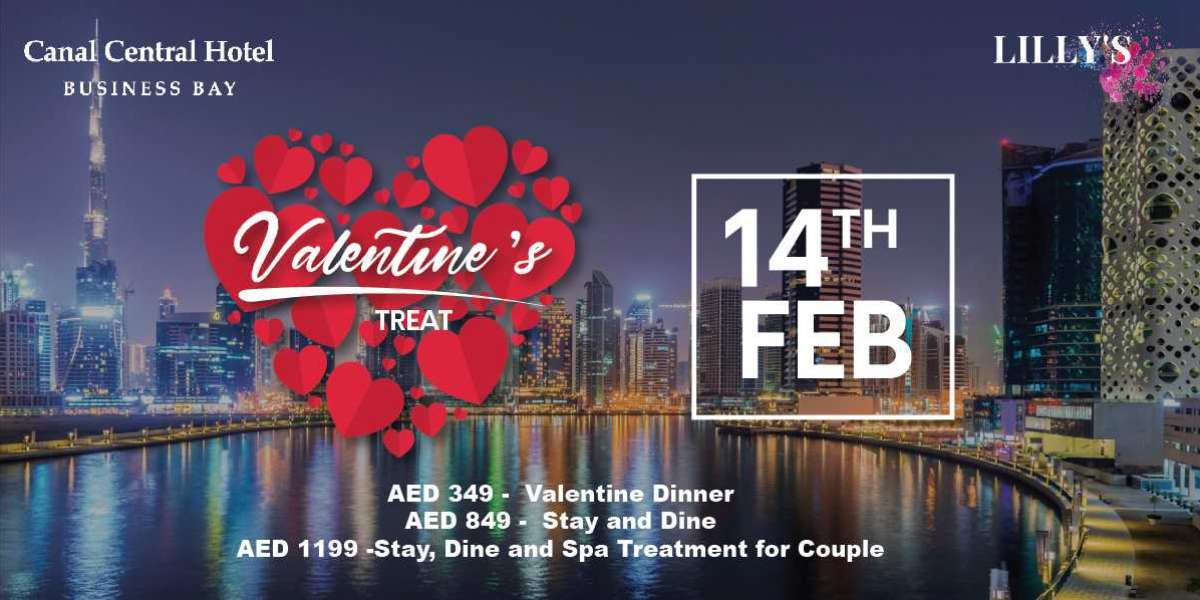 Celebrate Valentine's Day at Canal Central Hotels Business Bay